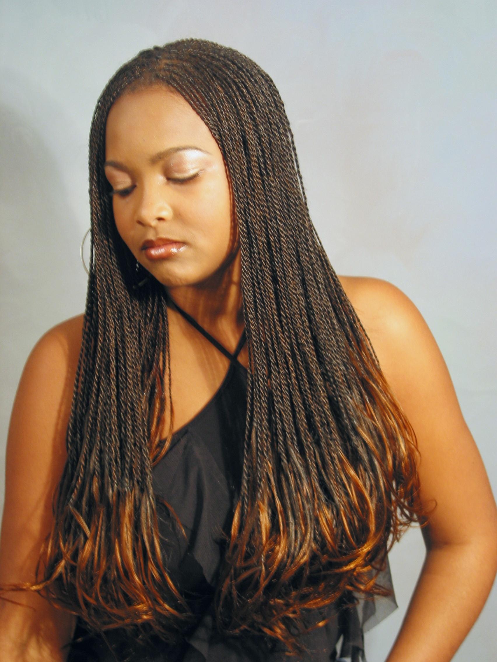 African Hair Braiding Senegalese Twist